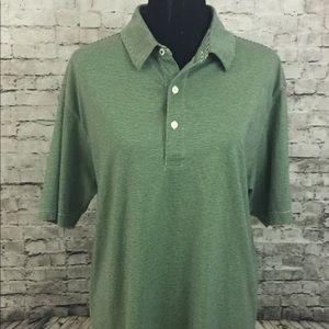 Alan Flusser Golf Performance Short Sleeve Polo L